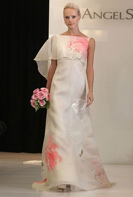 Top 10 Wedding Gowns for Fall 2012 - Angel Sanchez | Pinterest ...