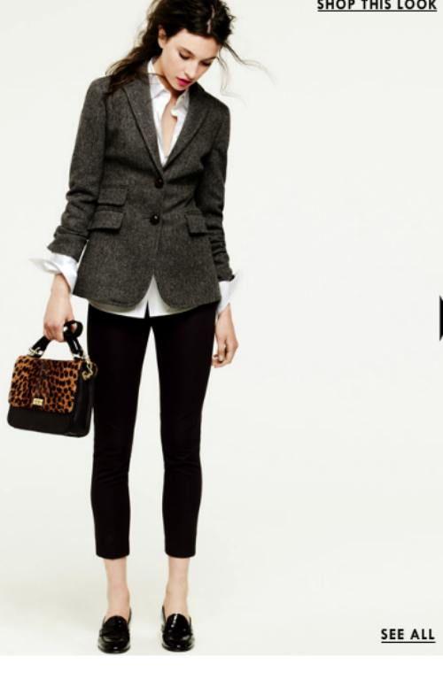 blazer and bag