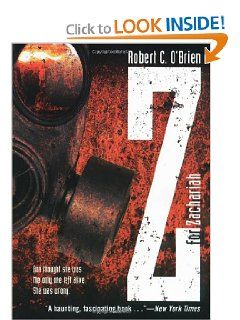 Z For Zachariah Robert C O Brien Read It Best Post Apocalyptic Book Books Essay
