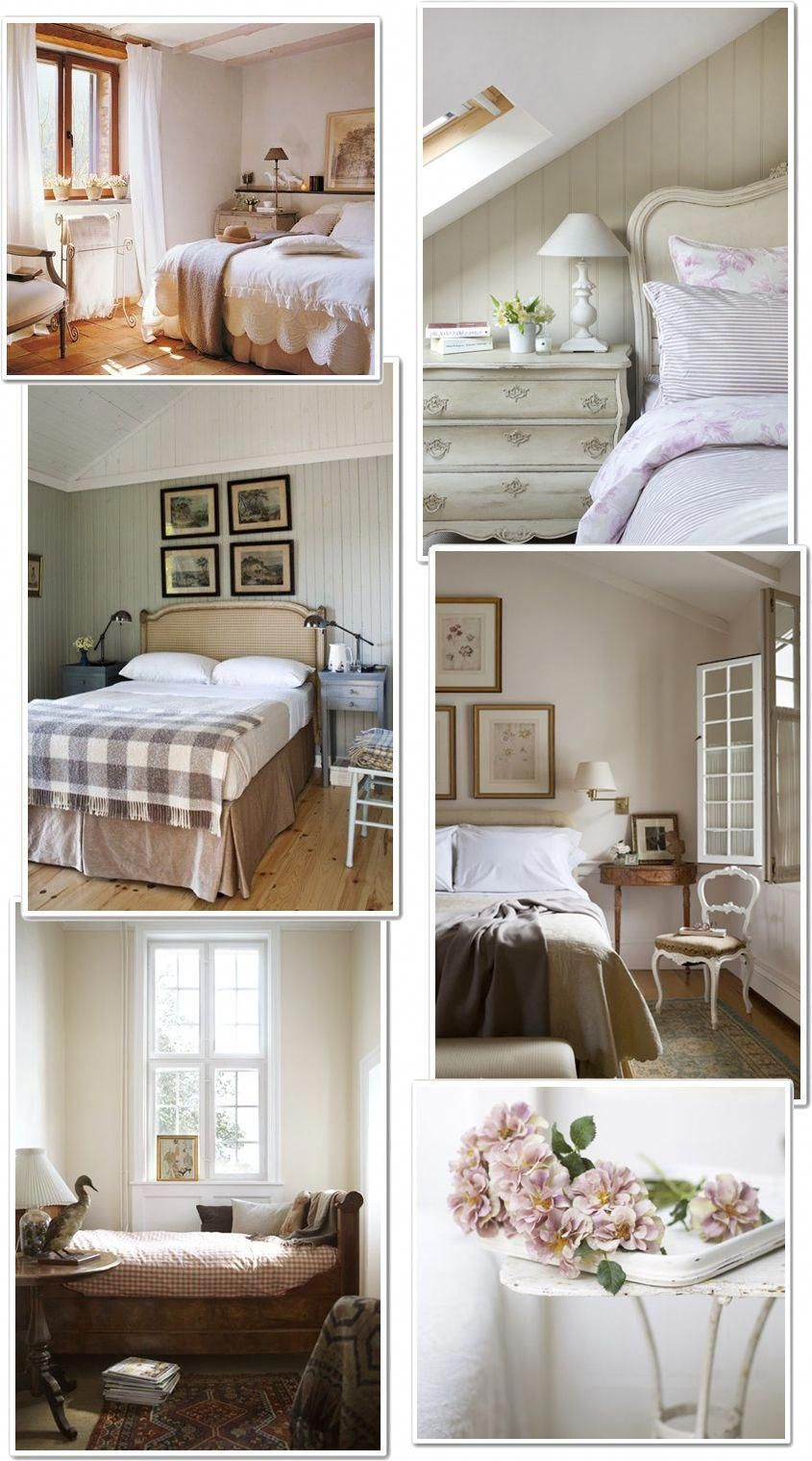 Shabby Chic Interiors: Camera Matrimoniale #Shabbychicbedrooms ...