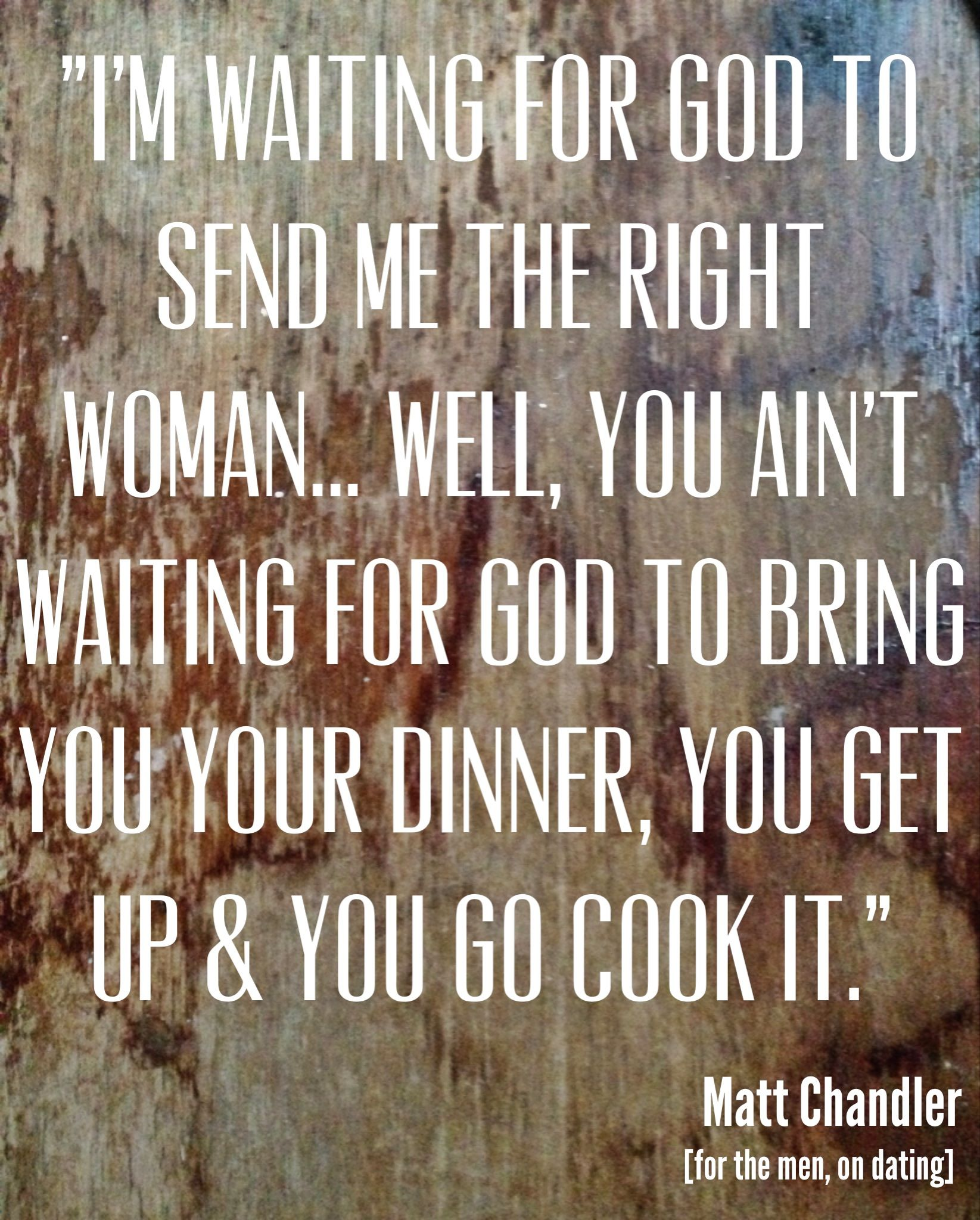 Does The Lord serve you your food?