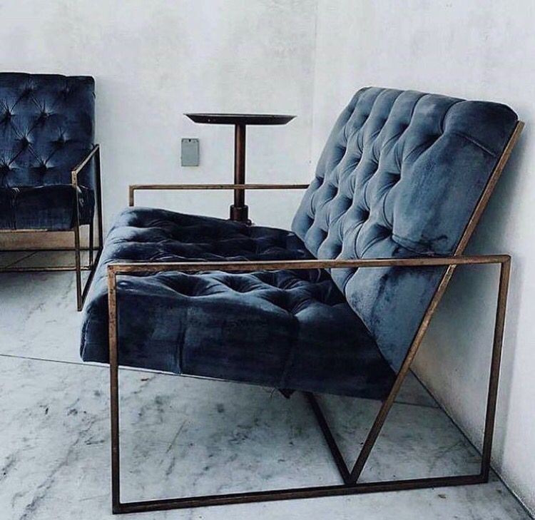 Modern Dark Blue Home Decor Chair Home Decor House Interior Home