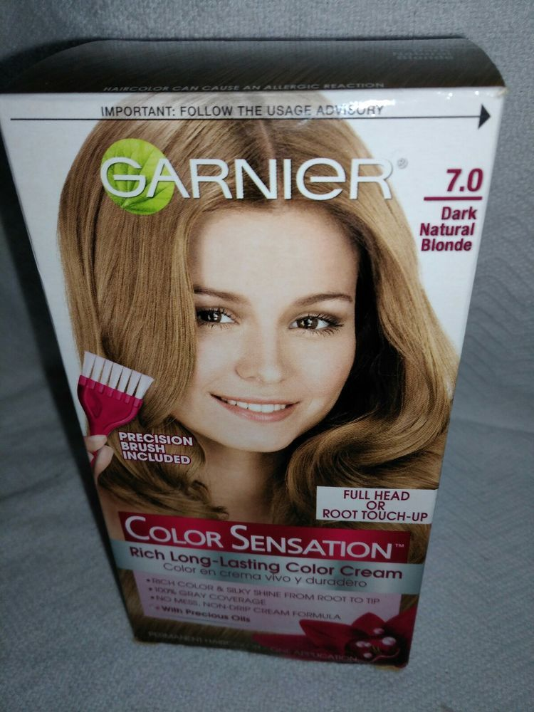Details About Garnier Olia 70 Dark Blonde Hair Color In 2018