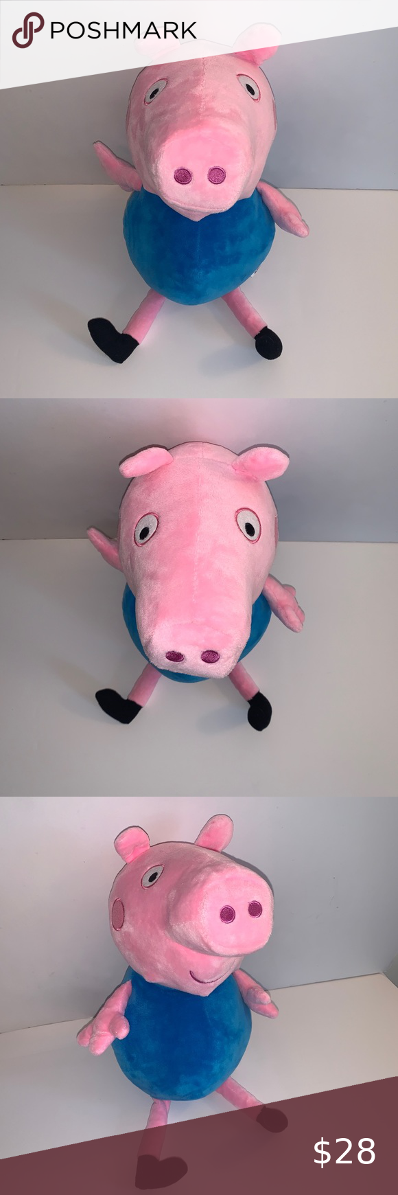 Peppa Pig 17 5 George Plush Stuffed Animal Peppa Pig 17 5 George Plush Doll Excellent Used Condition Plush Stuffed Animals Dinosaur Stuffed Animal Peppa Pig [ 1740 x 580 Pixel ]