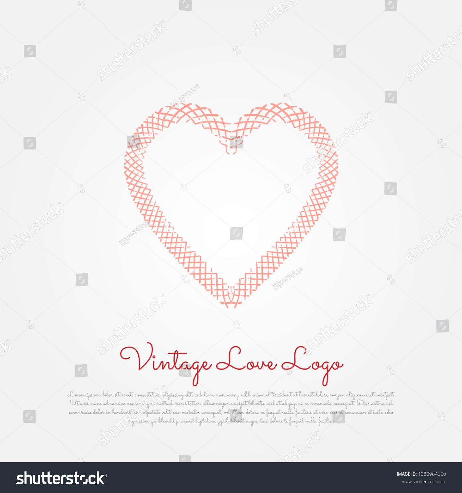 Vintage Love Logo Heart Icon Vintage Style Classic Love Icon Valentine S Day Icon Sponsored Affiliate Heart Icon Lo In 2020 Love Logo Heart Icons Vintage Love