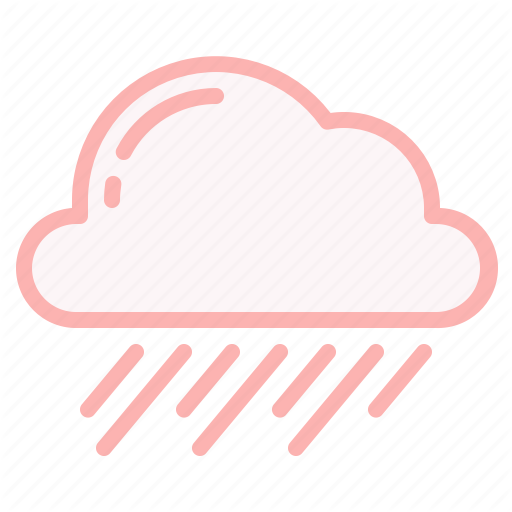 Cloud Rain Weather Wind Icon In 2020 Weather Icons Icon Weather