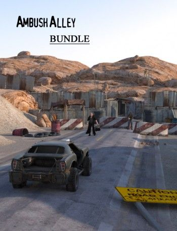 3D Apocalyptic Scenes, Destruction, Danger And Hopelessness For Your Fun 3D Art And Animations