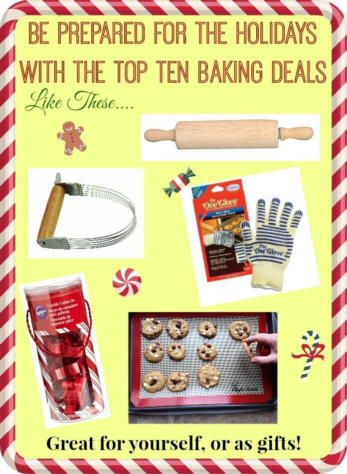 Baking Deals Have Someone Who Loves To Cook Or Bake These Products Are A