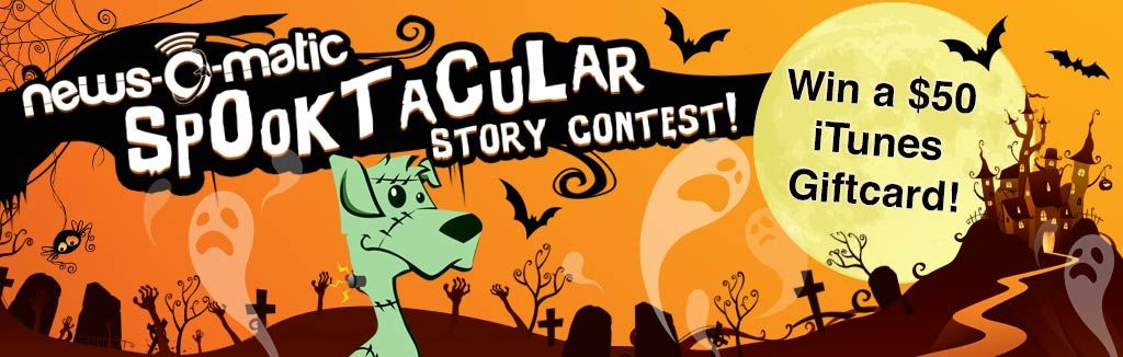 the news o matic halloween writing contest is back head out to - Halloween Short Story Contest