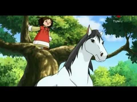 08 كرتون الأطفال ماسة Animals Horses