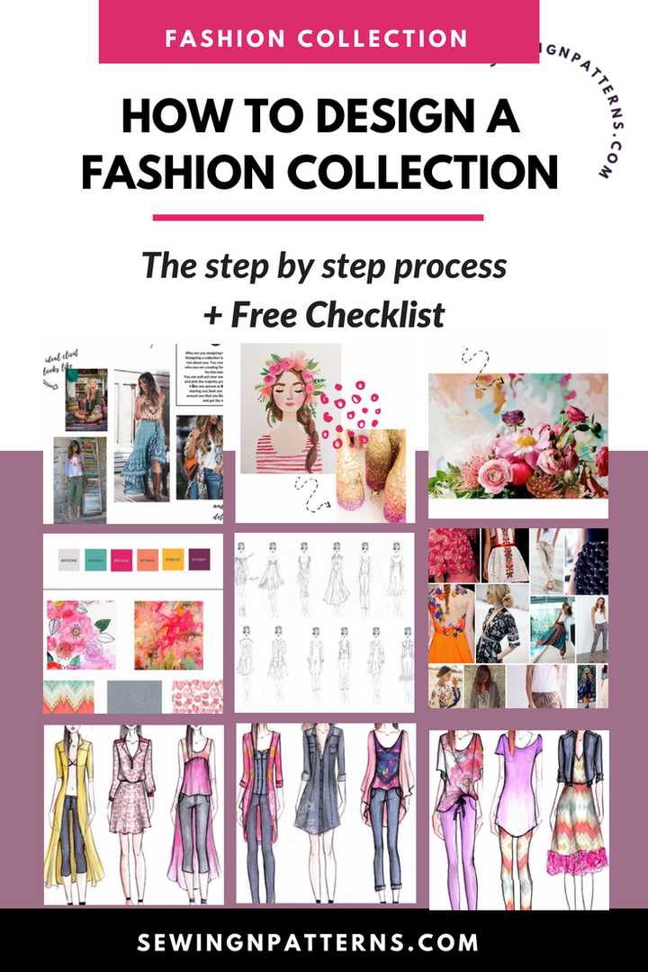How To Start A Clothing Line Free Checklist To Design Your Fashion Collection Fashion Design Sketches Fashion Design Classes Fashion Design Collection