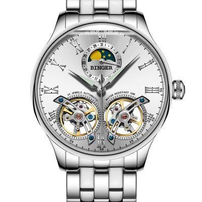 363aeddf4f176 BINGER Self Winding Affordable Luxury Watch from Switzerland!   MensFashionWatches