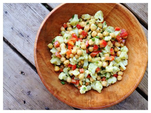 Chickpea Salad – Richness of Protein and Minerals Recipe on Yummly