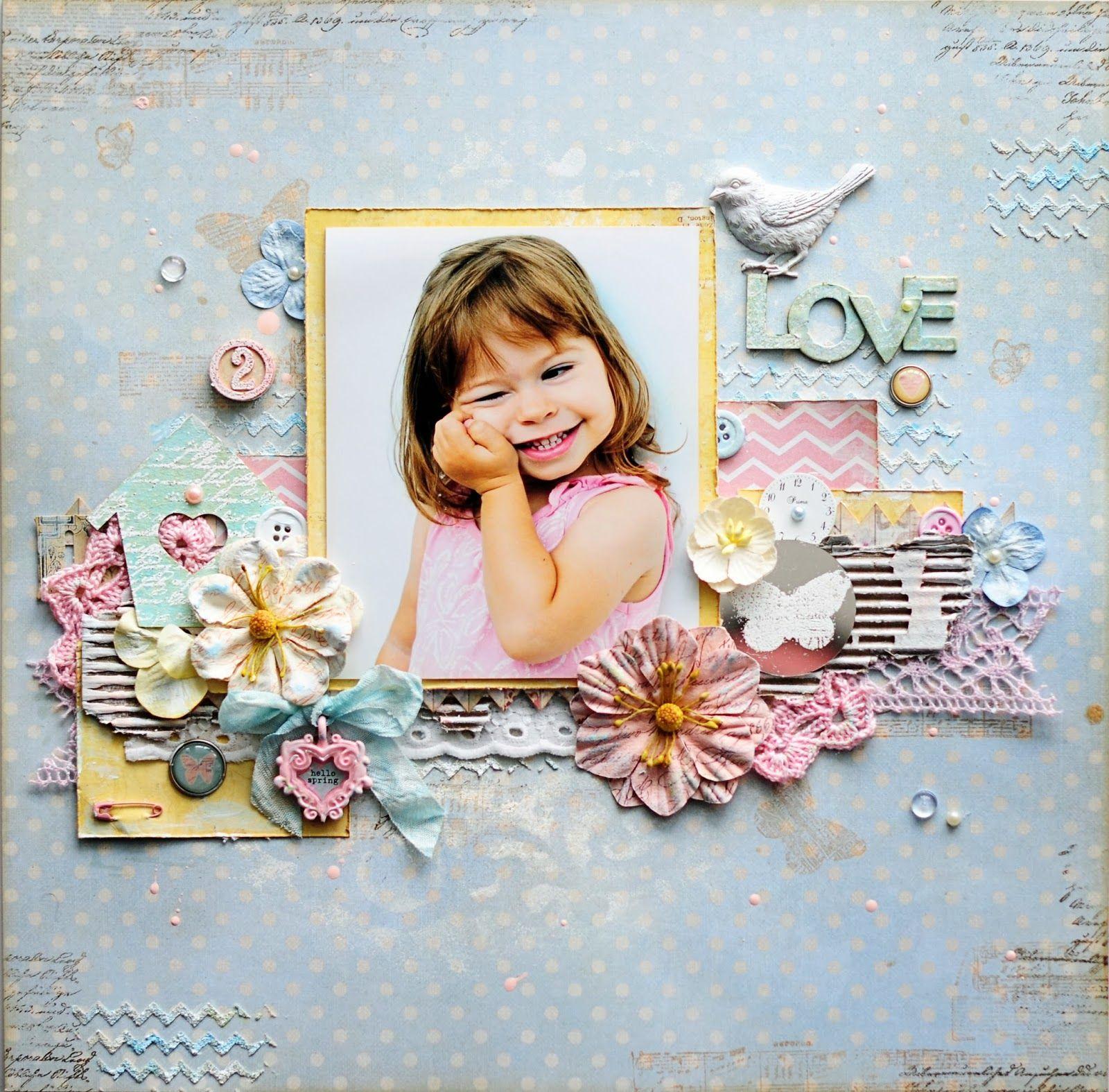 Картинки для оформления фотоальбома для девочки