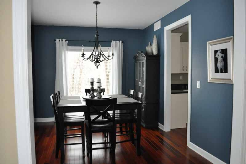 in style dining room paint color ideas model home decor ideas