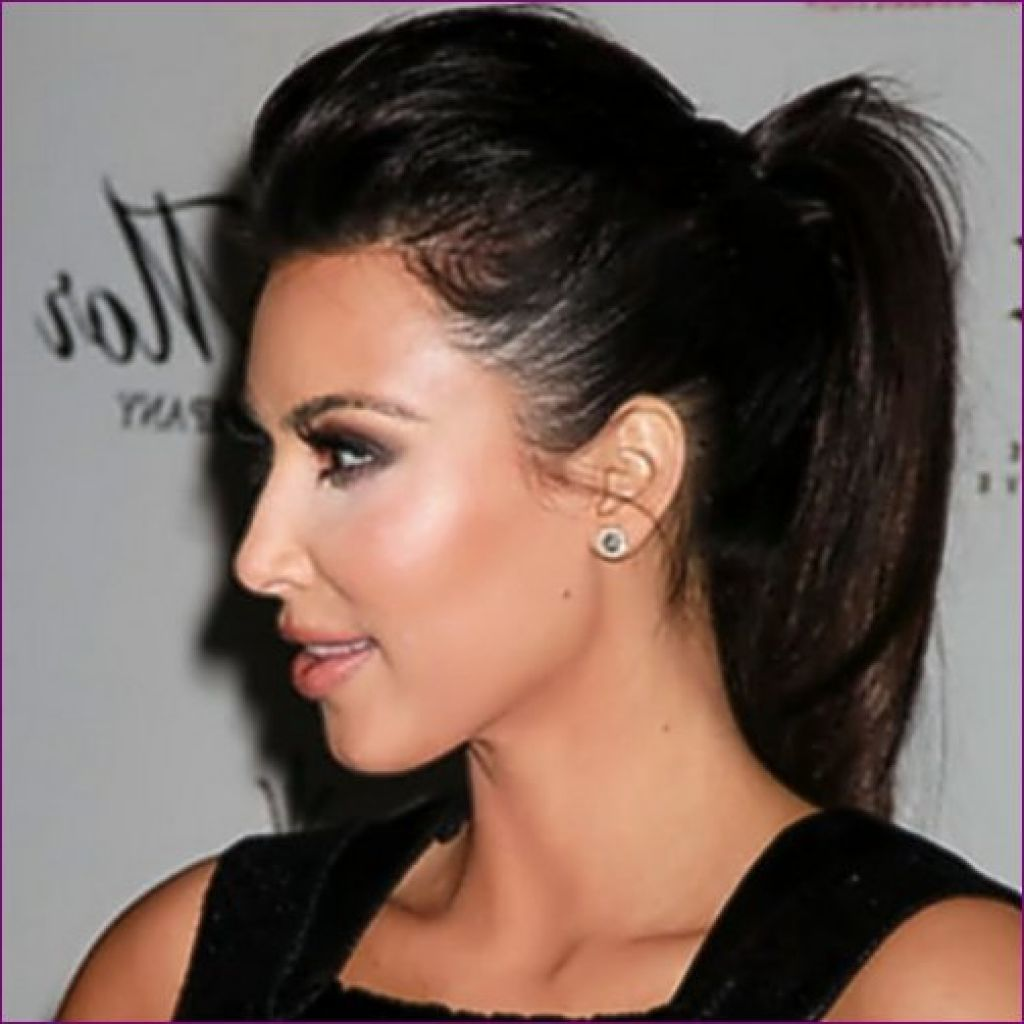 black long ponytail hairstyle for women | style :) | pinterest