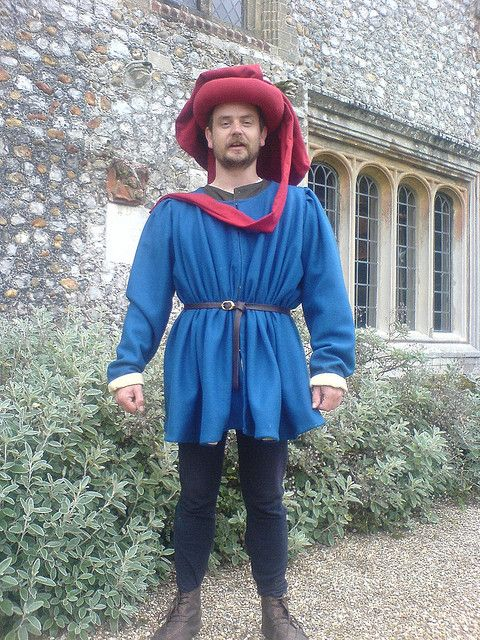 15th century gentleman at Mannington Hall