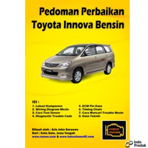 Nama Pedoman Perbaikkan Mobil Toyota Innova Bensin Status Siap Berat Kirim 1 Kg 1 Bahan Kertas Lux Kwalitas No 1 T Toyota Perbaikan Perbaikan Mobil