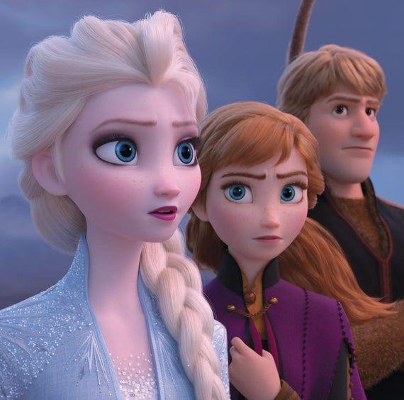 Frozen 2 Elsa cosplay costume handmade Disney