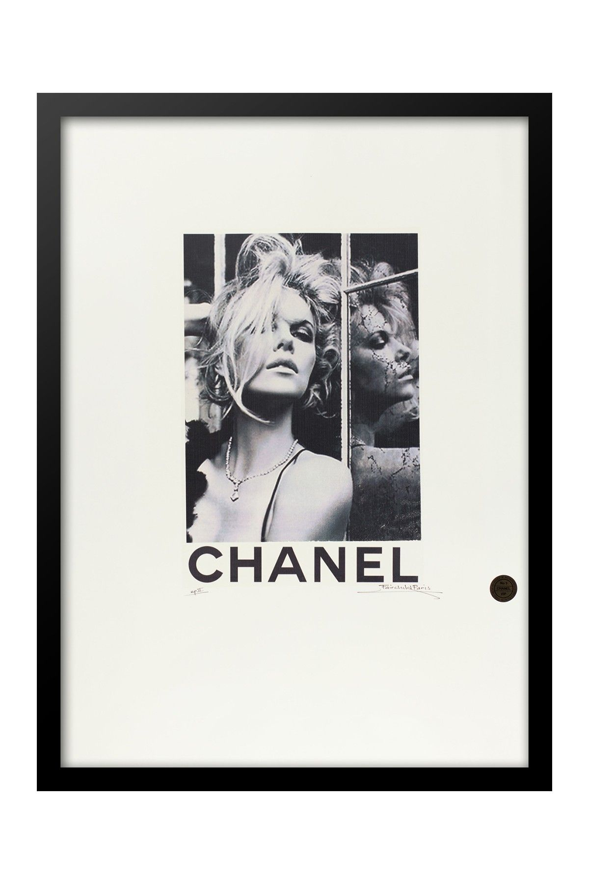 Fairchild Paris Supermodel Brigitte Bardot Original Print 24 X 30 Black White Paris Wall Art Home Decor Wall Art Framed Wall Art