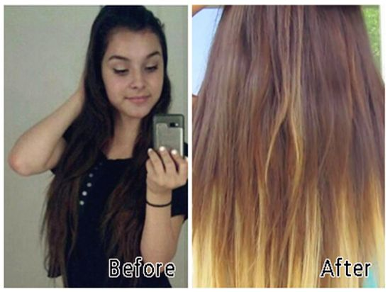 2013 winter hairstyle trend with cheap clip in hair extensions before and after hairstyle by clip in best straight blonde hair extension for thin hair pmusecretfo Choice Image