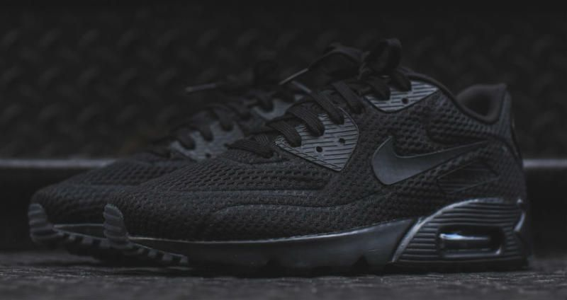 brand new 5777e 9a00d Nike Air Max 90 Ultra BR Triple Black Is Now Up For Grabs
