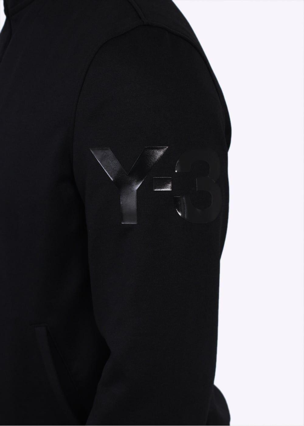 Y3 / Adidas Yohji Yamamoto Classic Track Top Schwarz  