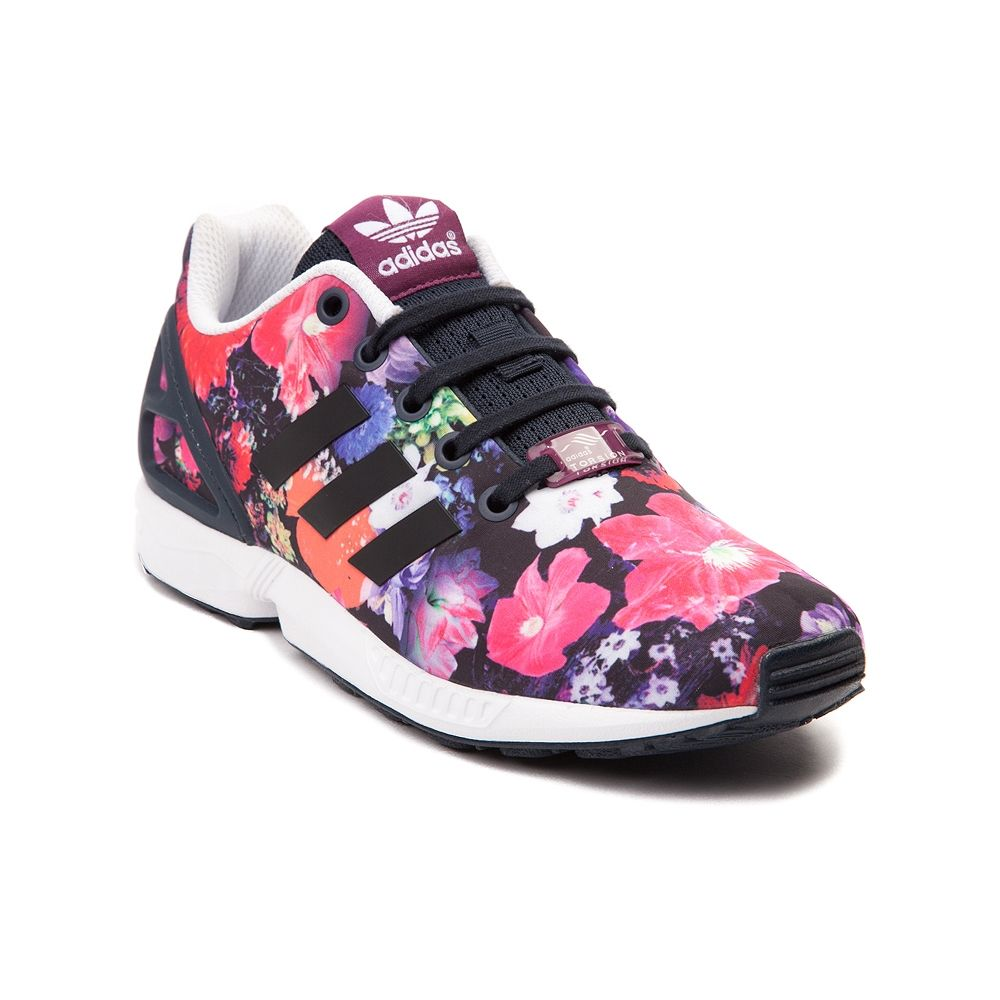 Youth/Tween adidas ZX Flux Flower Athletic Shoe