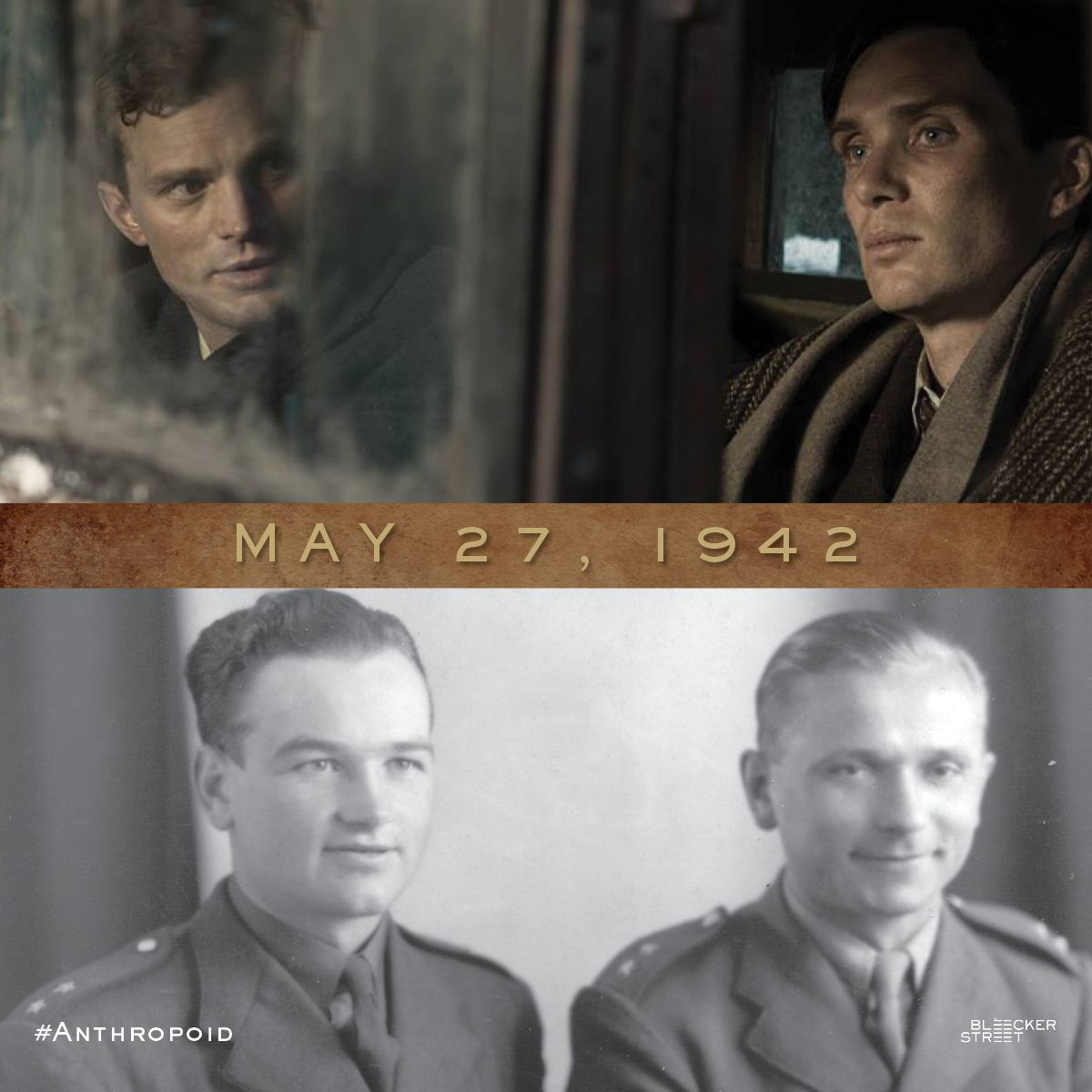 Today marks the anniversary of WWII Operation #Anthropoid, the order to assassinate Reinhard Heydrich, the third highest ranking Nazi commander after Himmler and Hitler himself. See the story brought to life, coming to theaters on August 12, 2016.