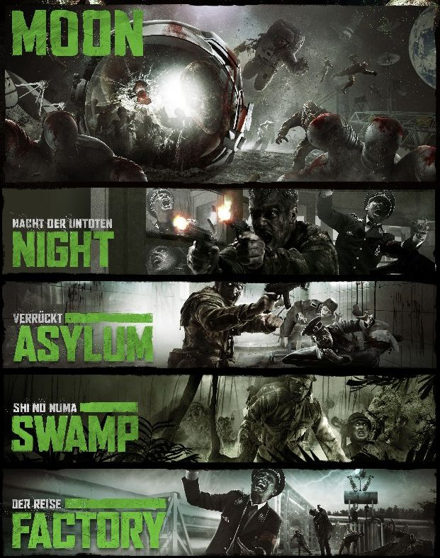 Cod Black Ops Dlc Rezurrection Call Of Duty Zombies Call Of