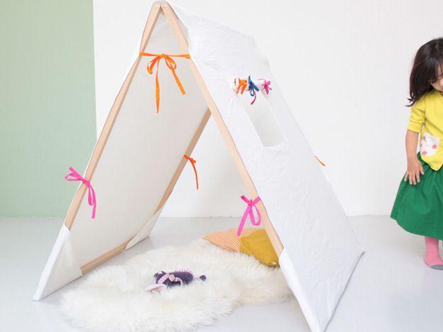 Una tienda de campaña para niños - Deco