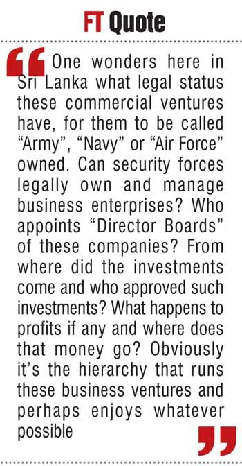 Allowing Armed Forces To Run Businesses Is Too Dangerous Media Quotes Board Of Directors Business
