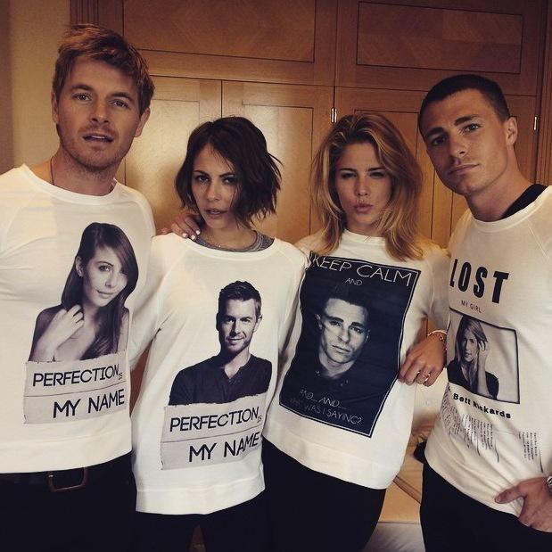 Emily, Colton, Willa & Rick <3 #Arrow #TheFlash
