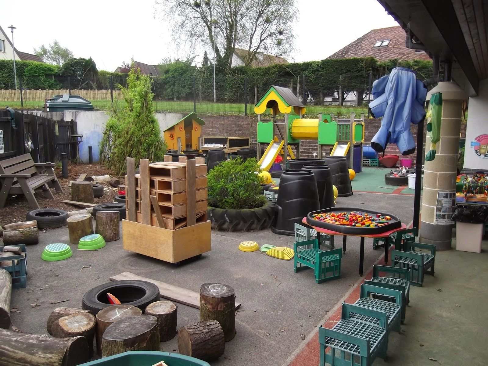 Learning For Life Outdoor Play Party Hollow Blocks