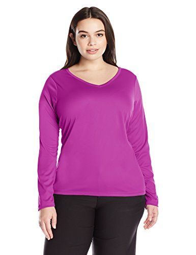 1e6aed9f83163 Kanu Surf Women's Plus-Size Solid Upf 50+ Long Sleeve Swim Shirt Rashguard