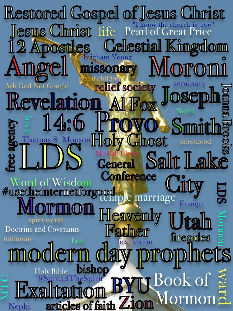"""Mormon Life"" *Note: I am not a Mormon."