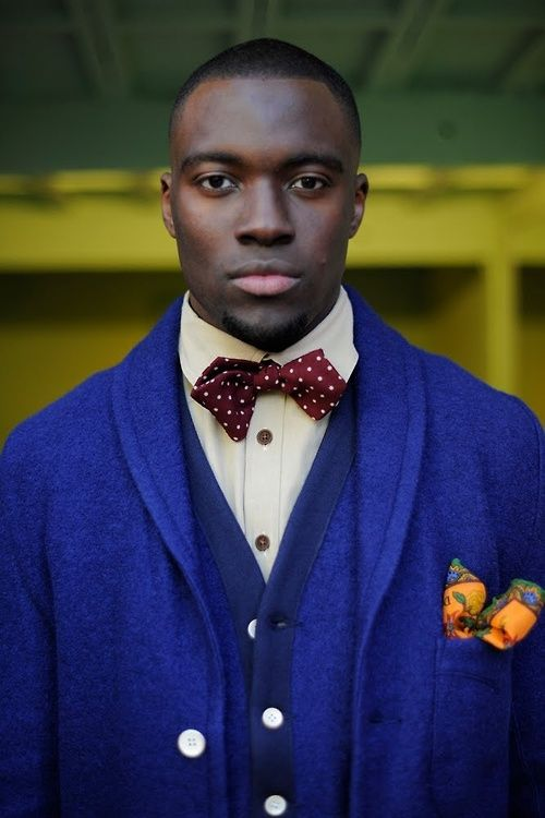 Gorgeous Black man in blue!!! | ...sharp dressed man | Pinterest ...
