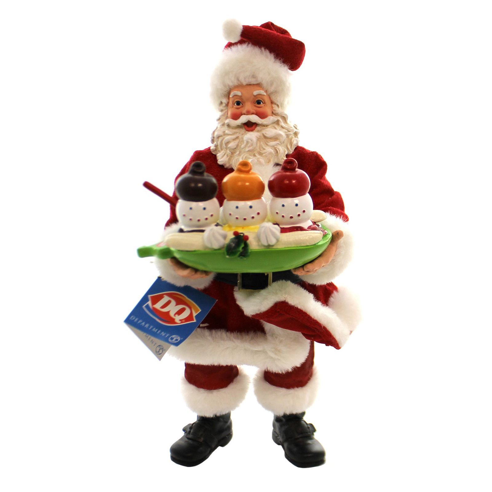 Dairy Queen Soft Swirl Snowman Christmas Decor Christmas
