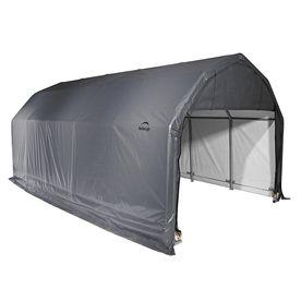 Shelterlogic Metal Single Car Garage Building (Common: 12-Ft X 24-Ft;