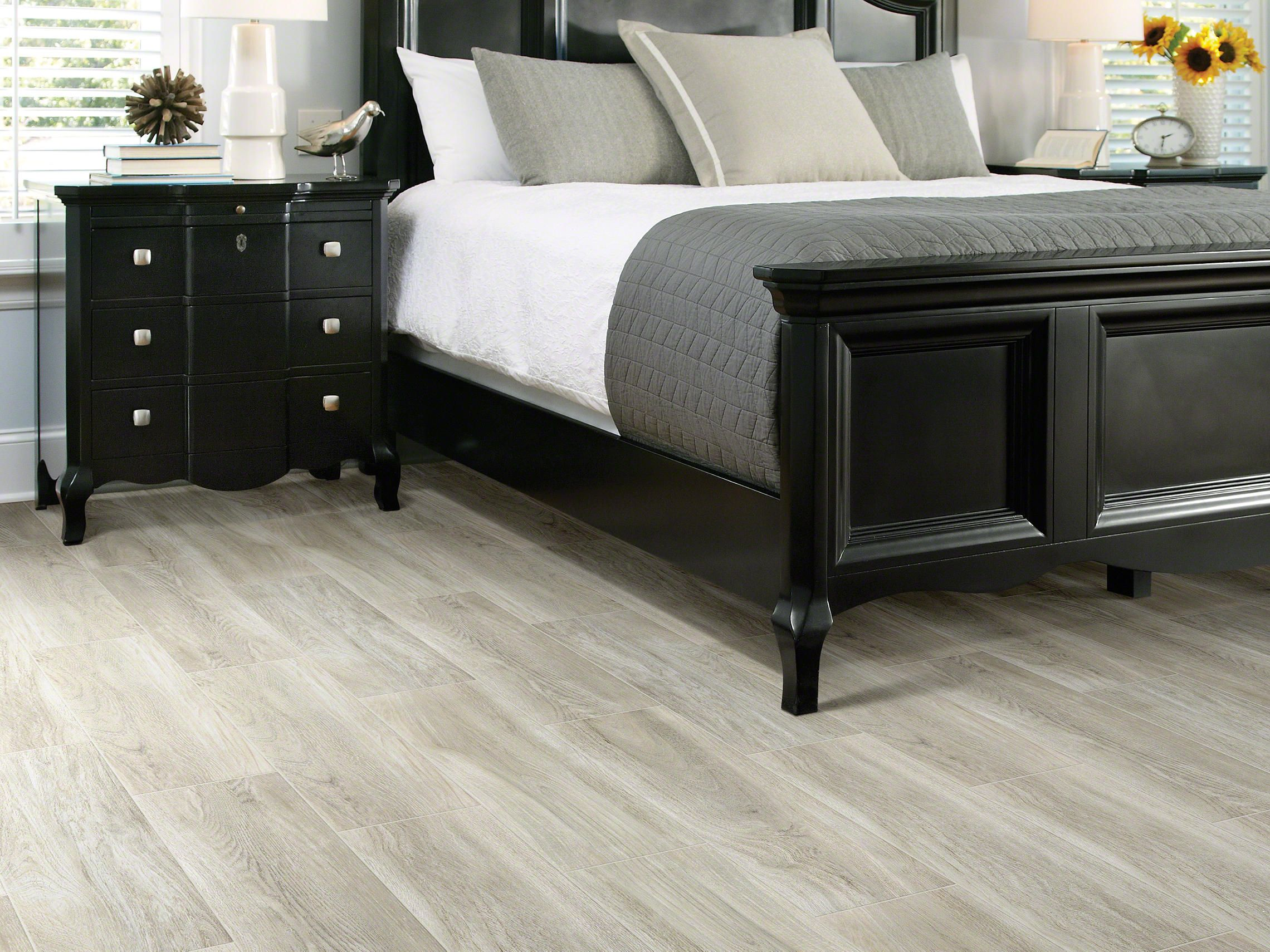 beautiful shaw wood look tile- perfectly calm and soothing warm