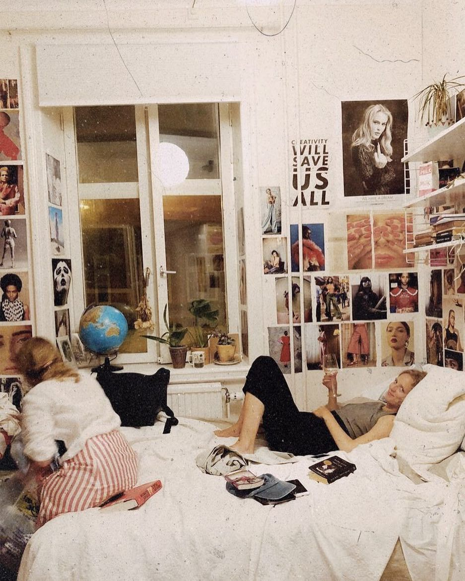 Artsy Farsty On Instagram Fashion Style Grungetumblr Grunge Softgrunge Hipster Hippie Urban Vintage Ootd Outfit In 2020 Dorm Room Essentials Bedroom Decor Room Inspo