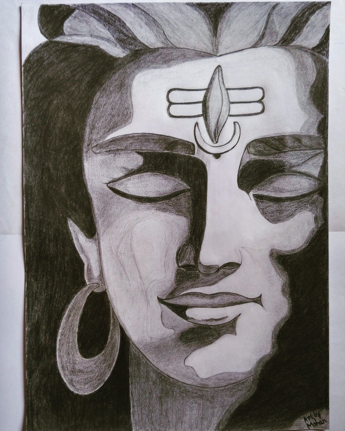 Lord Shiva Pencil Sketch Pencil Sketch Images Pencil Drawing Images Lord Shiva Painting