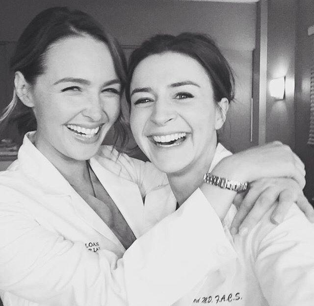 Dr Wilson & Dr Shepherd Behind the scenes of season 12! | Greys ...
