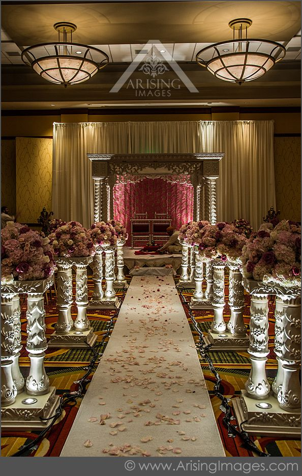 Elegant Indian Wedding Ceremony Decor Love The Pillars Arisingimages