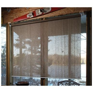 Castlecreek Sunscreen Roll Up Window Shade House In