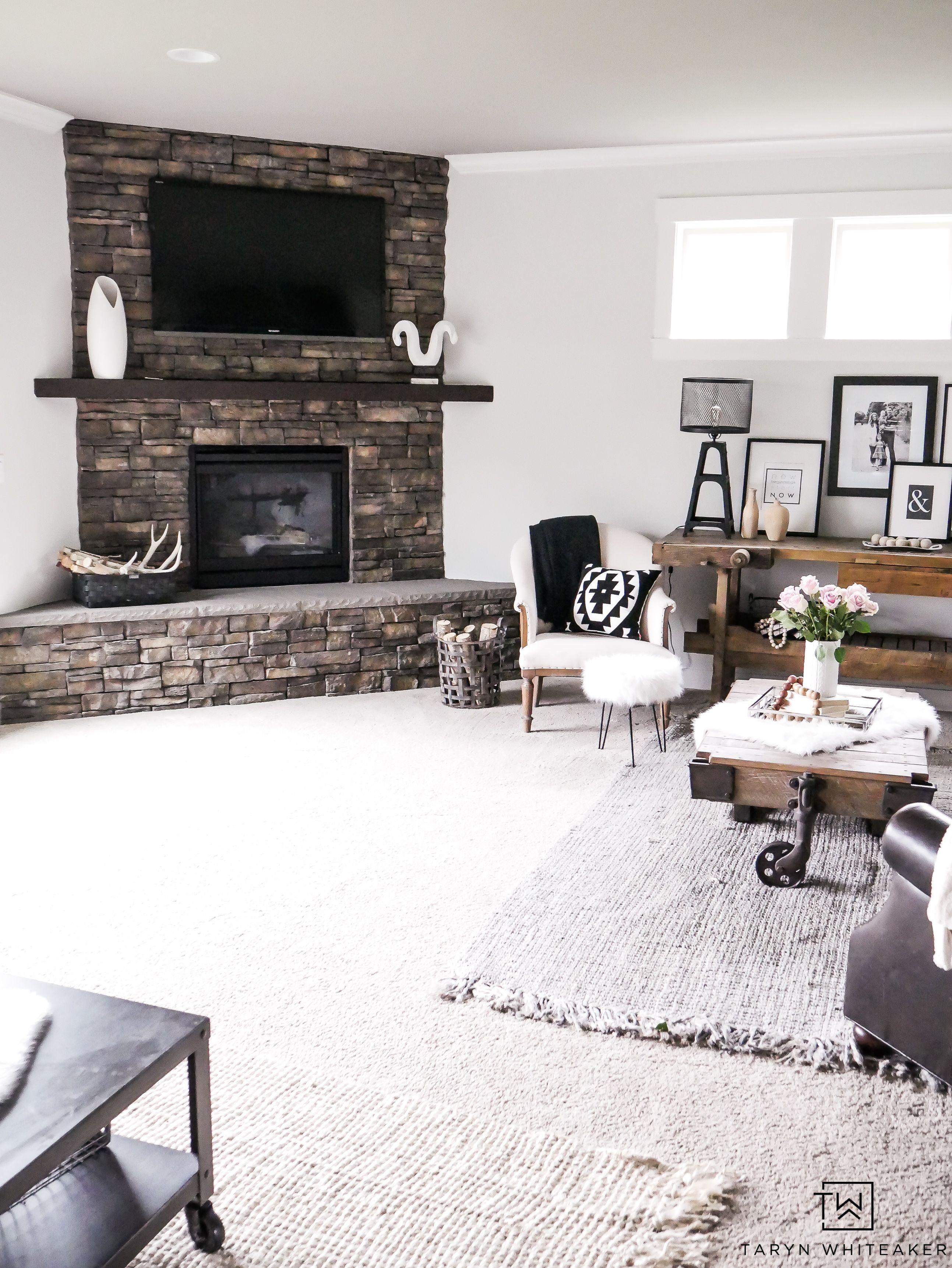 Living Room Paint Refresh | Paint Colors | Pinterest | Rustic modern ...