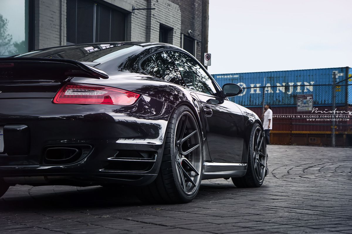 Porsche 911 Turbo (997 MKII) with Brixton Forged CM5 Targa Series. Wheels by ReinART Design. More Featured Fitment >> http://www.motoringexposure.com/featured-fitment/