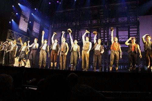 Newsies Broadway Curtain Call Newsies Theatre Nerds Musicals
