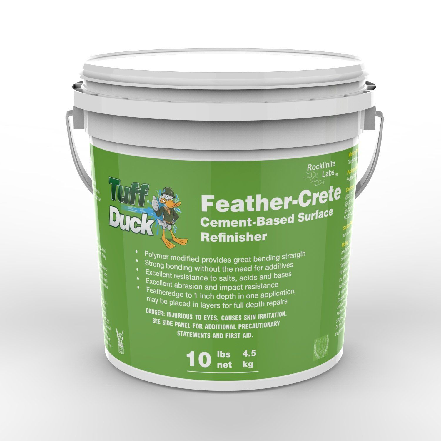 Tuff Duck Feathercrete Counter Top Overlay And Concrete Patch 10lb