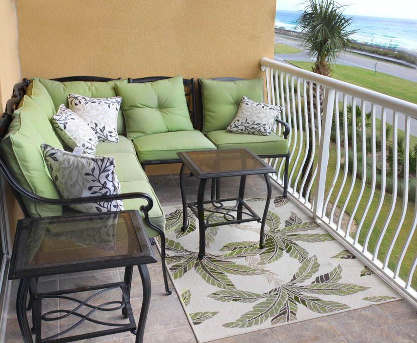Miramar Beach Condo Balcony - Destin | Happy decorating ...